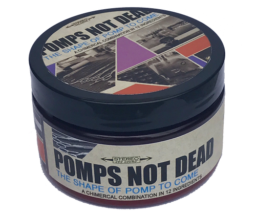 The Shape of Pomp To Come Water Based Pomade