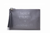 STRENGTH Tassel Pouch