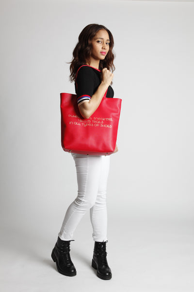 SHOES North/South Tote