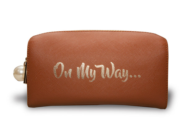 ON MY WAY Cosmetic Bag/Clutch