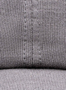 Stiksen 105 Canvas Grey Baseball Cap Detail