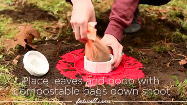 Video: DIY Dog Poop Composter