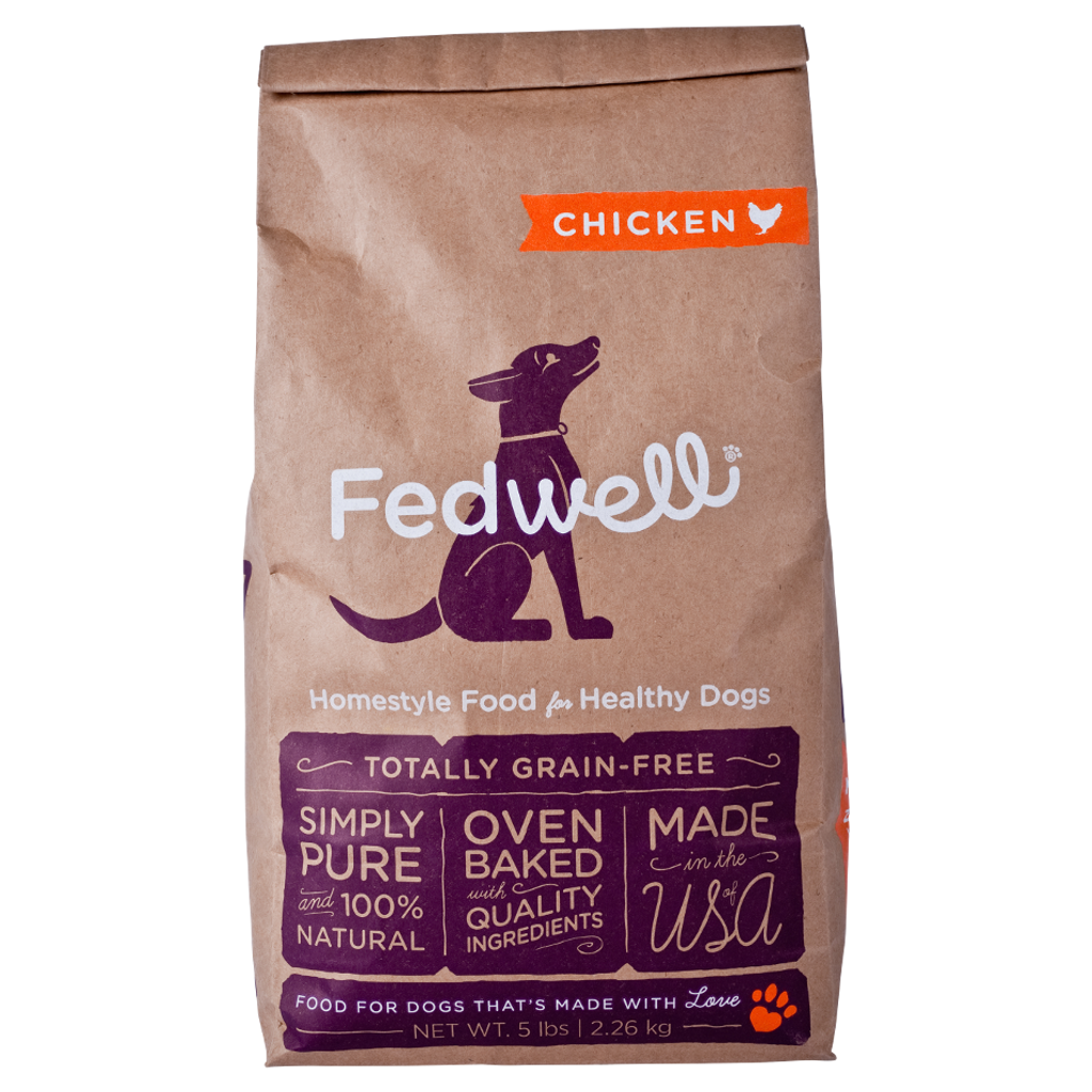 Oven Baked Chicken Kibble