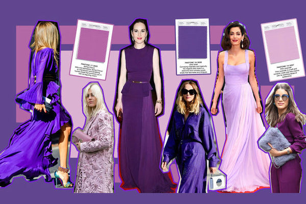 The 3 Shades of Purple to Wear This Spring and How to Choose Them