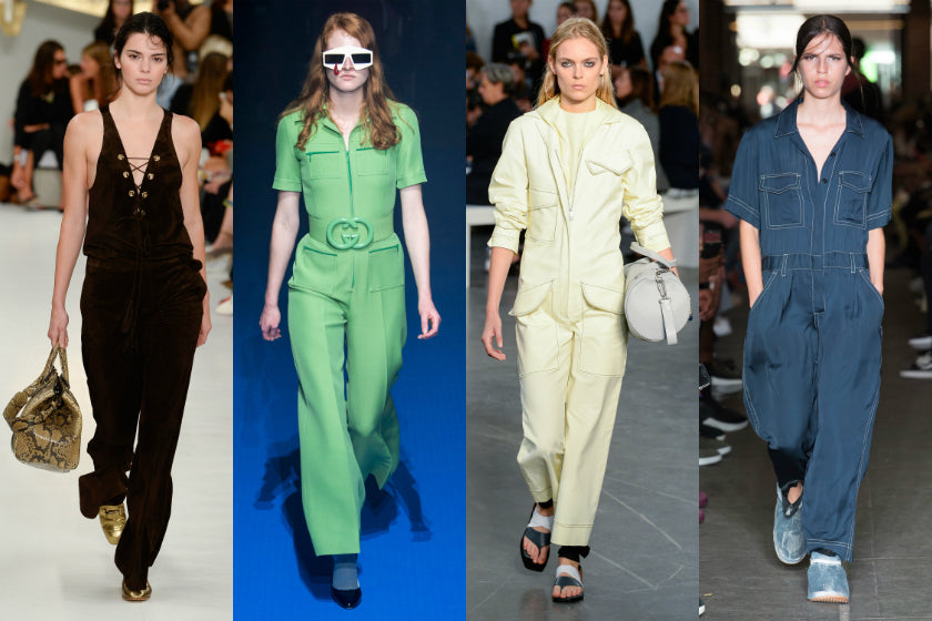 Jumpsuits trend spring/summer 2018 ss18