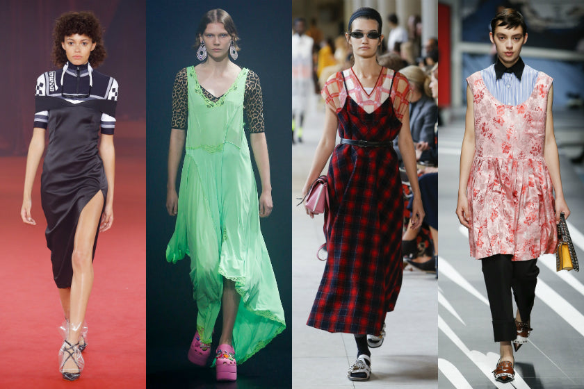 Dress on shirt trend spring summer 2018 ss18