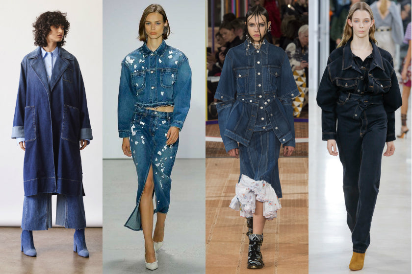 Denim trend spring summer 2018 ss18
