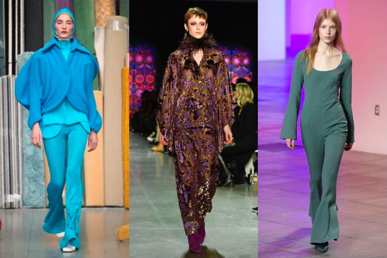monochromatic trend fall winter 2018