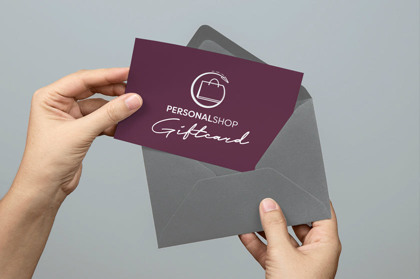 Personal Shopper Gift Card