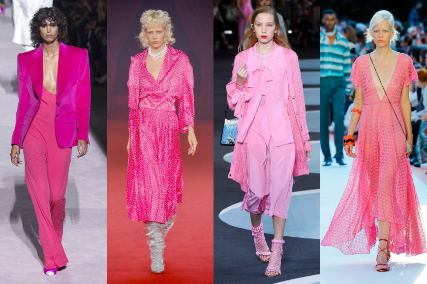 Pink trend spring summer 2018 ss18