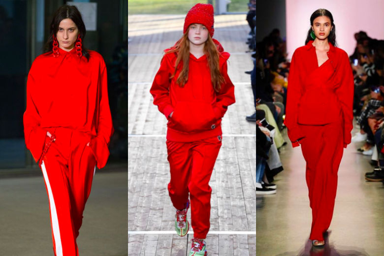 red trend fall winter 2018