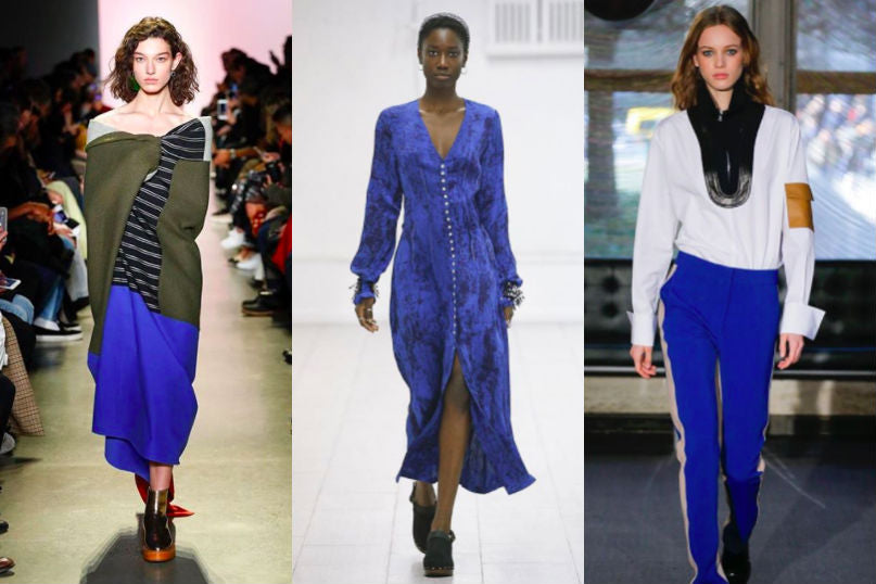 royal blue trend fall winter 2018