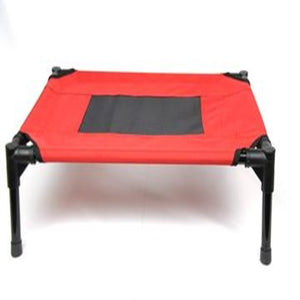 Steel-Framed Portable Elevated Pet Bed Cat/Dog Size M