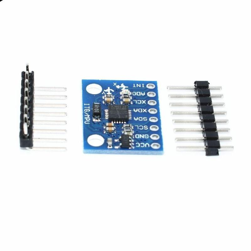 3 Axis analog gyro sensor and Accelerometer