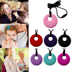 Baby Molar Safety Silicone Teething Necklace