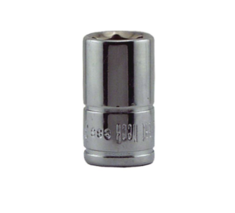 Socket - 1/4 Drive 6 Point 3/8 Inch