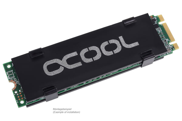 Alphacool HDX - M.2 SSD M01 - 80mm - Black