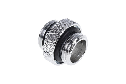 Alphacool Eiszapfen male to male G1/4 outer thread to G1/4 outer thread - Chrome