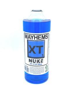 Mayhems XT-1 Nuke V2 UV Blue Premixed 1Ltr