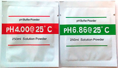 pH buffer sachets