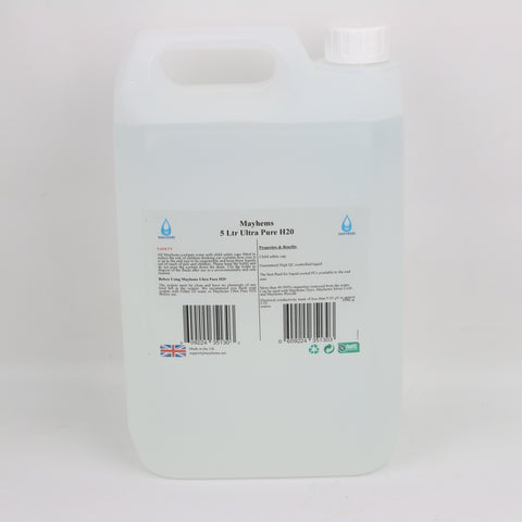 5Ltr - Ultra Pure H20