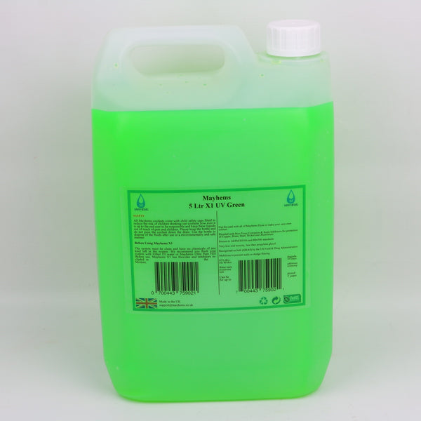 X1 - UV Green 5ltr