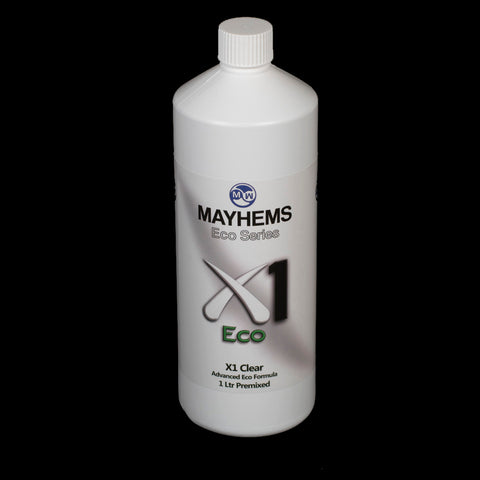 Mayhems X1 Clear 1 Ltr Premixed V2