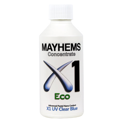 Mayhems X1 V2 - UV Clear Blue 250ml Concentrated