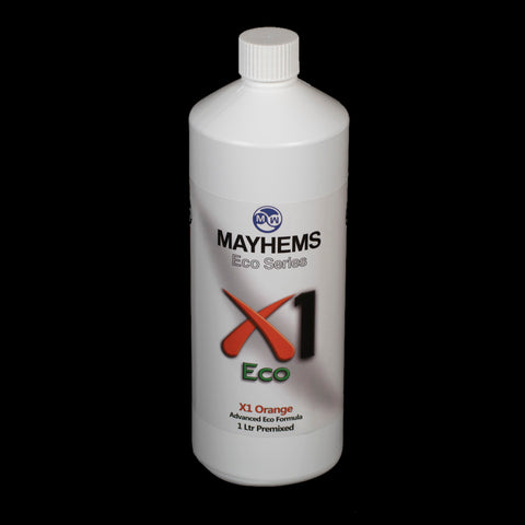 Mayhems X1 Orange 1 Ltr Premixed V2