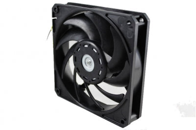 120mm Nidec - Gentle Typhoon Performance Radiator Fan - 1850rpm, 58cfm - Black Edition