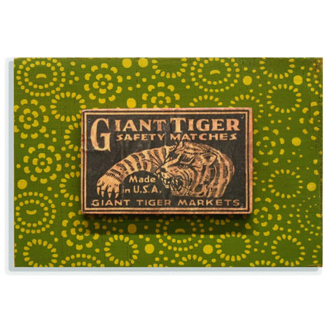 Giant Tiger on green