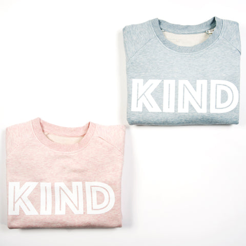 Long-sleeve KIND sweatshirt