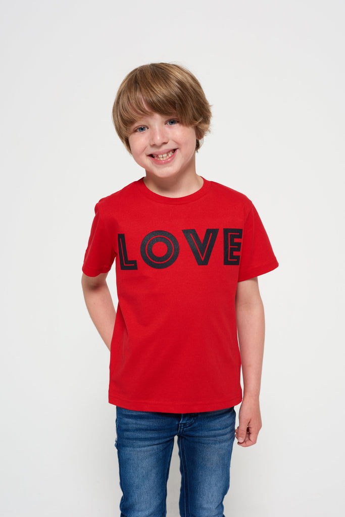Short-sleeve LOVE t-shirt