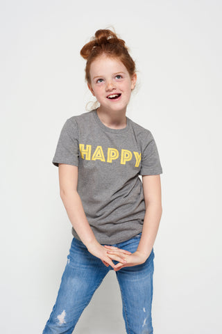 Short-sleeve HAPPY t-shirt