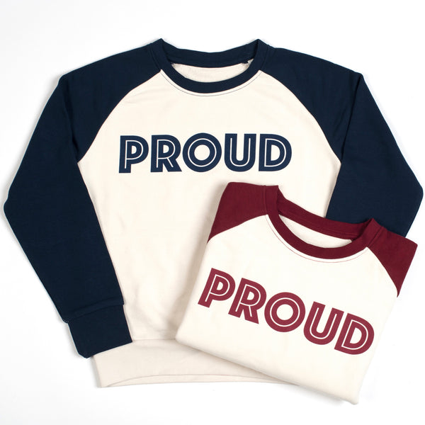 Long-sleeve PROUD sweatshirt