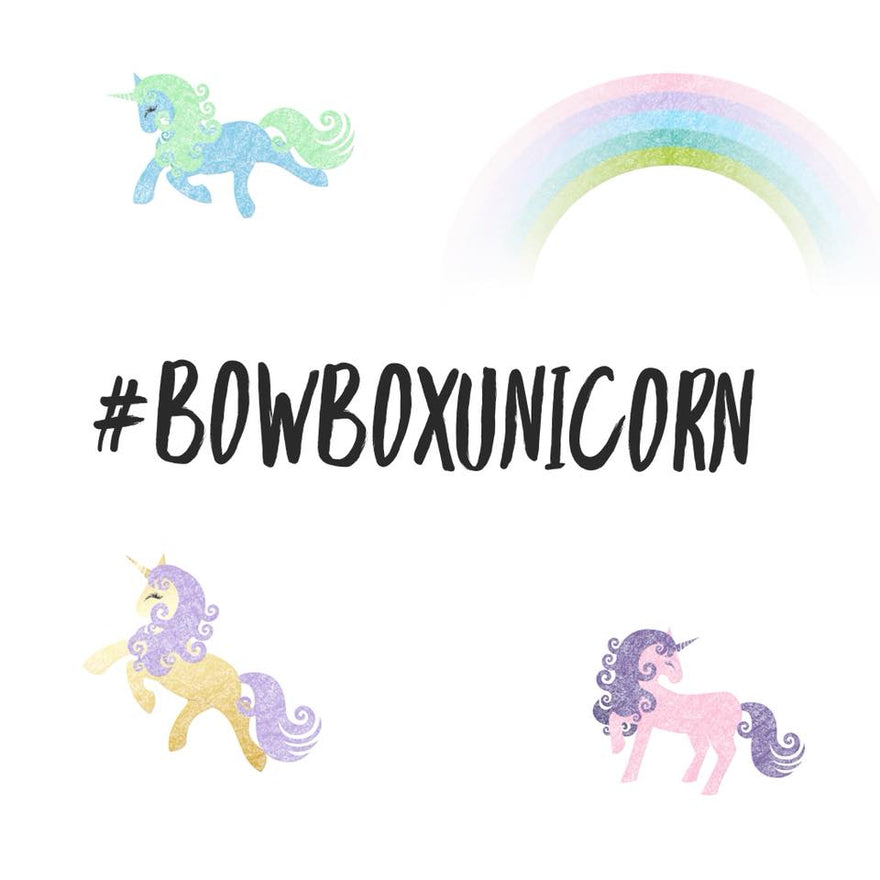 Bow Box Unicorn