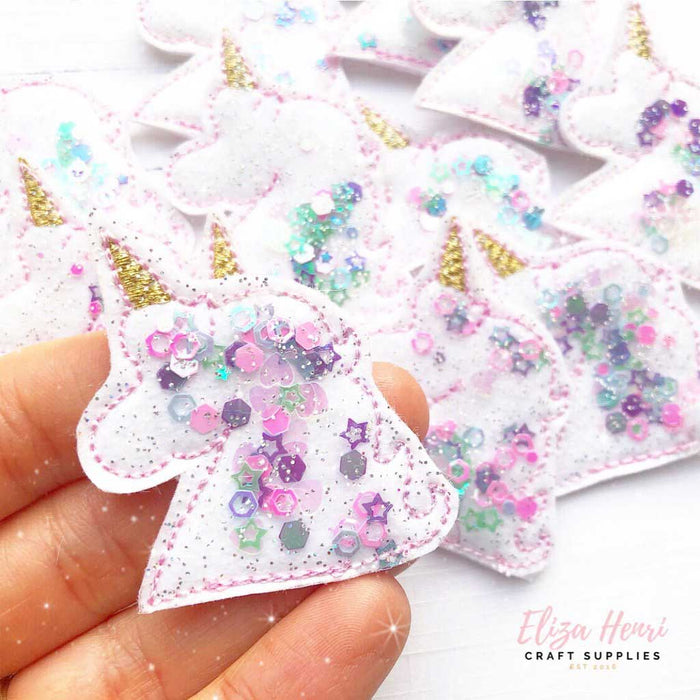 Glitter, Sequins & Confetti Filled Felties