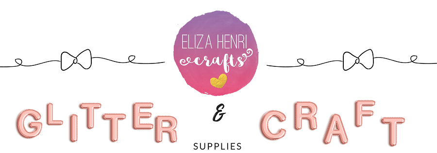 Eliza Henri Crafts | Glitter Fabric & Craft Supplies