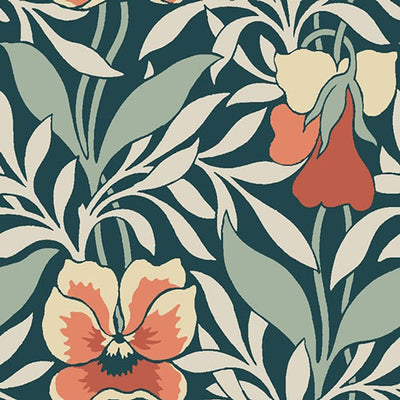 Harriet's Pansy Orange-Hesketh House Liberty Fabric Felt 04775648Z
