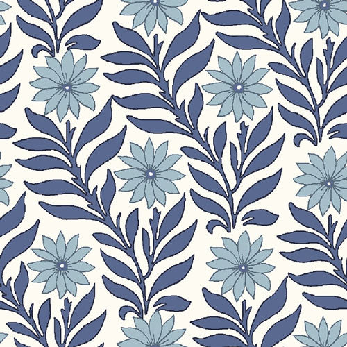 Sweet Marigold - Blue  -Hesketh House Liberty Fabric Felt 04775655X