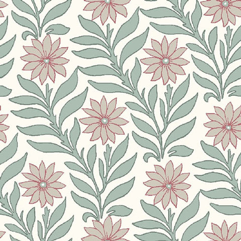 Sweet Marigold - Pink  -Hesketh House Liberty Cotton Fabric 04775655Y