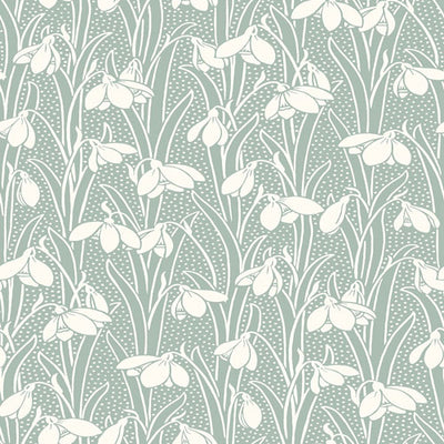 Hesketh - Sage -Hesketh House Liberty Cotton Fabric 04775656X