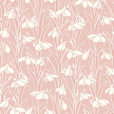 Hesketh - Pink -Hesketh House Liberty Cotton Fabric 04775656Y