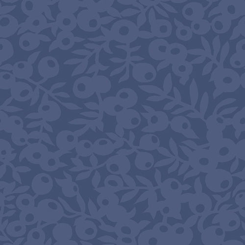 Wiltshire Shade - Blue -Hesketh House Liberty Cotton Fabric 04775657X