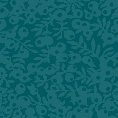 Wiltshire Shade - Forest Green -Hesketh House Liberty Cotton Fabric 04775657Z