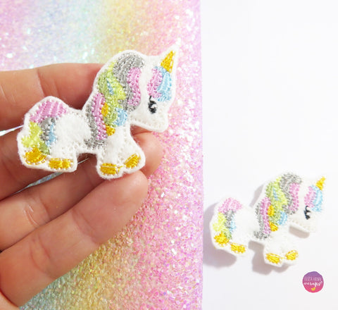 Candy the Unicorn and friends Cute pony unicorn Felties