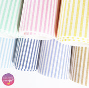 Candy Stripes Fabric Felt