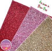 Tinsel Kisses Chunky Glitter Tinsel Fabric