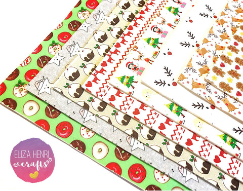 The Christmas Collection- Luxury Artisan Fabric Felts