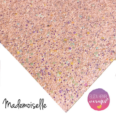 Exclusive Mademoiselle Chunky Glitter Fabric
